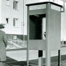 Telefonkiosk 1941 från Tekniska Museets arkiv